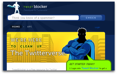 TweetBlocker cleaning up the Twitterverse