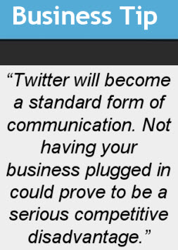 Twitter Business Tip